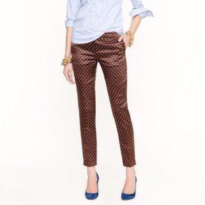 J. Crew Silk Wool Cafe Capri Pants